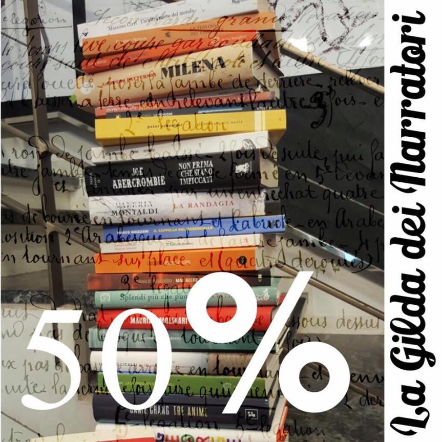Grande novità in libreria: uno scaffale di libri a metàprezzo!!!