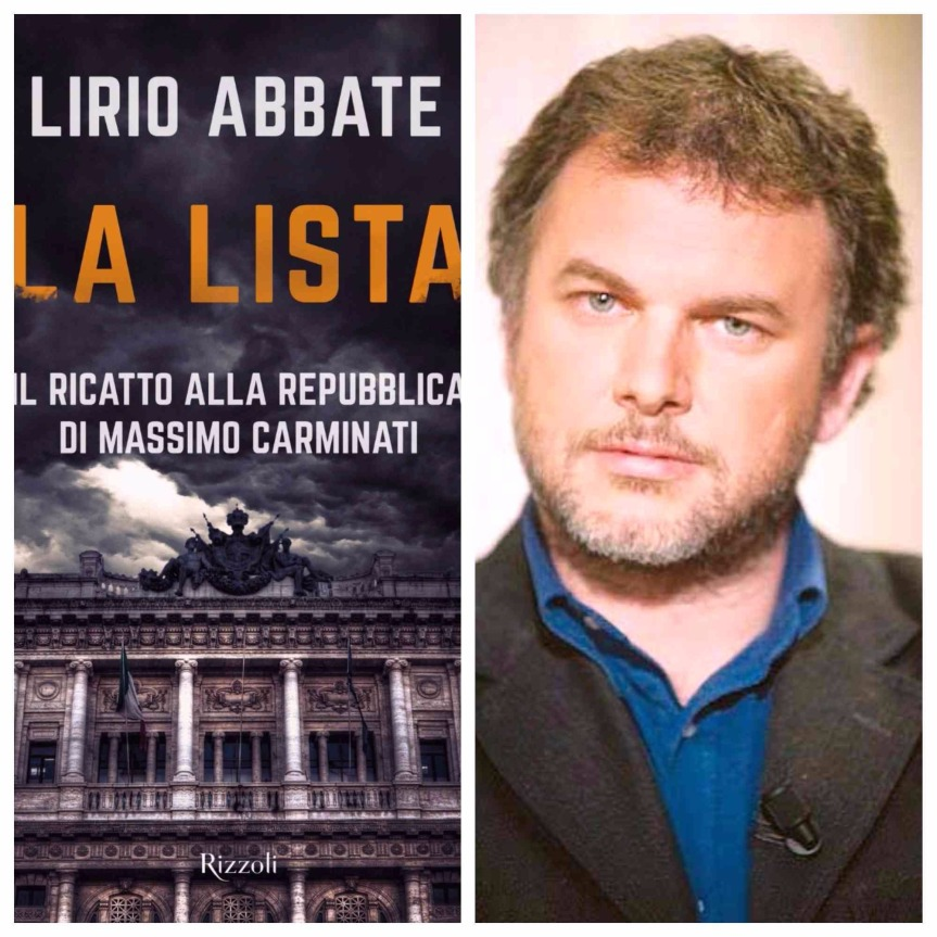 """Lirio Abbate a Messina presenta """"La Lista"""" (Rizzoli), l'11aprile."""